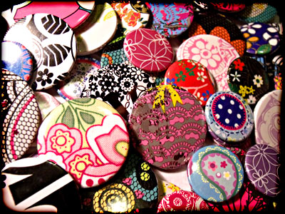 Powder Monki :: Floral Badges