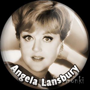 Angela Lansbury - Vintage Movie Star Badge/Magnet