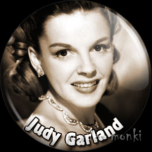 Judy Garland - Vintage Movie Star Badge/Magnet