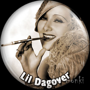 Lil Dagover - Vintage Movie Star Badge/Magnet