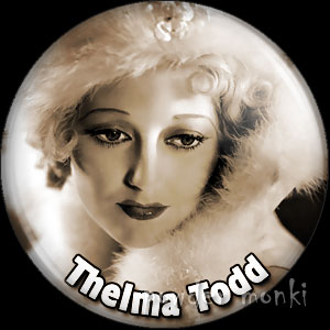 Thelma Todd - Vintage Movie Star Badge/Magnet