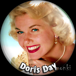 Doris Day - Retro Movie Star Badge/Magnet