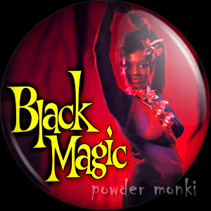 Black Magic - LP Badge/Magnet