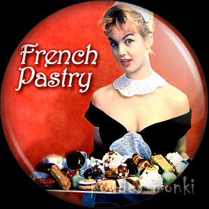 French Pastry - LP Badge/Magnet