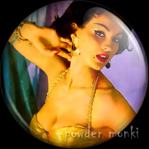 Ten Nights in a Harem - LP Badge/Magnet