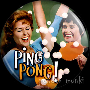 Ping Pong - LP Badge/Magnet