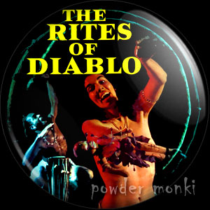 The Rites of Diablo - LP Badge/Magnet