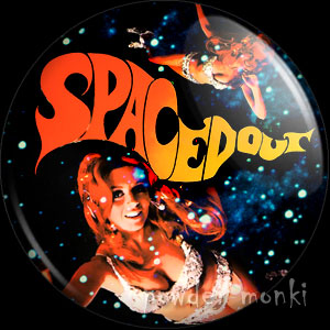 Spaced Out - LP Badge/Magnet