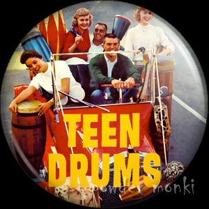 Teen Drums - LP Badge/Magnet