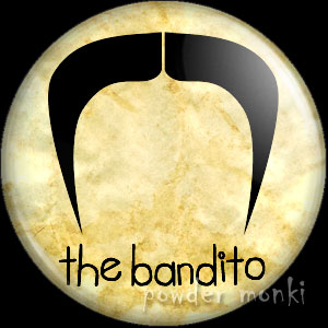 The Bandito - Moustache Badge/Magnet