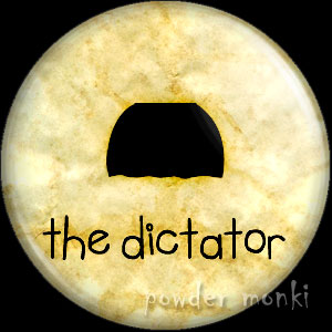 The Dictator - Moustache Badge/Magnet