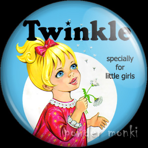 Twinkle Annual 1971 - Badge/Magnet