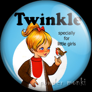 Twinkle Annual 1972 - Badge/Magnet