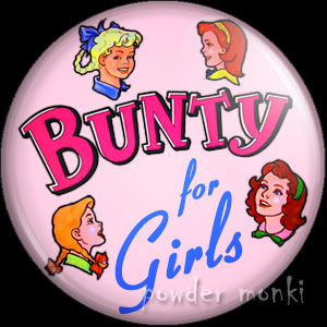 Bunty Annual - Badge/Magnet