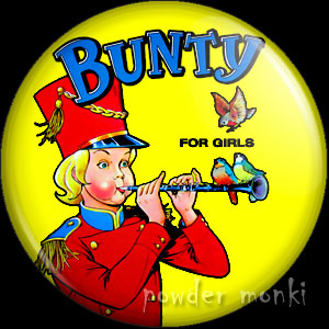 Bunty Annual 1980 - Badge/Magnet