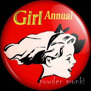 Girl Annual - Badge/Magnet