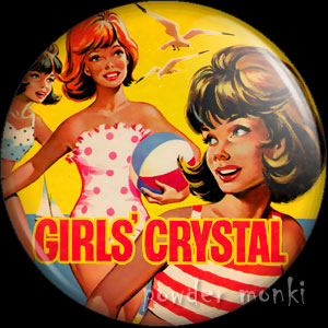 Girl's Crystal Annual - Badge/Magnet