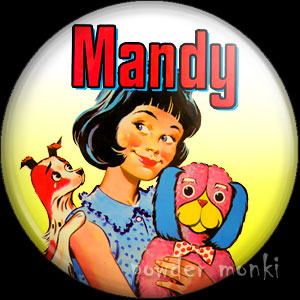 Mandy Annual - Badge/Magnet