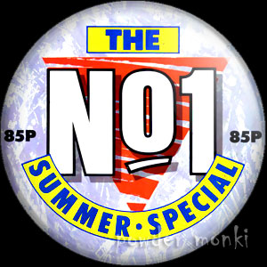 "Number One ""Summer Special"" - Music Magazine Badge/Magnet"