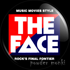 The Face - Music Magazine Badge/Magnet