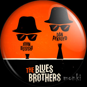 Blues Brothers - Retro Movie Badge/Magnet