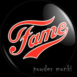 Fame - Retro Movie Badge/Magnet