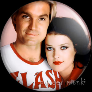 Flash Gordon - Retro Movie Badge/Magnet (1)