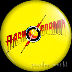 Flash Gordon - Retro Movie Badge/Magnet (2)