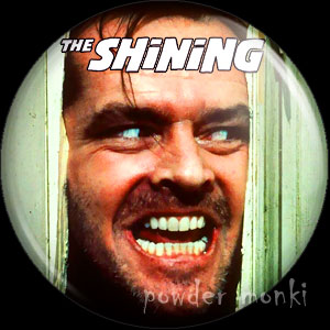 Shining - Retro Movie Badge/Magnet