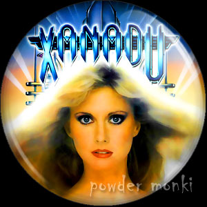 Xanadu- Retro Movie Badge/Magnet