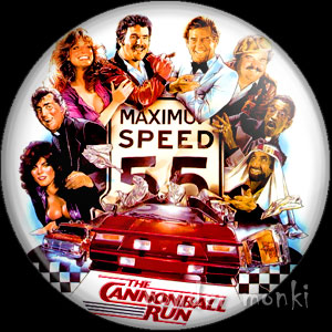 Cannonball Run - Retro Movie Badge/Magnet