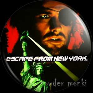 Escape From New York - Retro Movie Badge/Magnet
