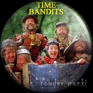 Time Bandits - Retro Movie Badge/Magnet