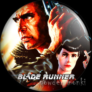 Blade Runner - Retro Movie Badge/Magnet