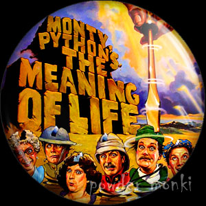 Monty Python: The Meaning Of Life - Retro Movie Badge/Magnet