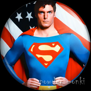 Superman III - Retro Movie Badge/Magnet
