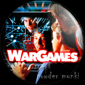WarGames - Retro Movie Badge/Magnet
