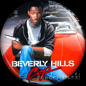 Beverly Hills Cops - Retro Movie Badge/Magnet