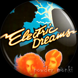 Electric Dreams - Retro Movie Badge/Magnet
