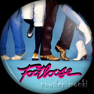 Footloose - Retro Movie Badge/Magnet