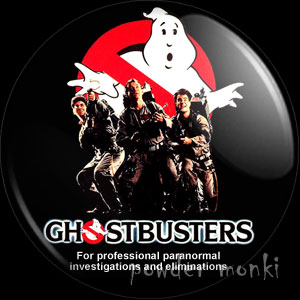 Ghostbusters - Retro Movie Badge/Magnet (group)