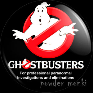 Ghostbusters - Retro Movie Badge/Magnet