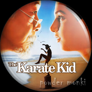 Karate Kid - Retro Movie Badge/Magnet