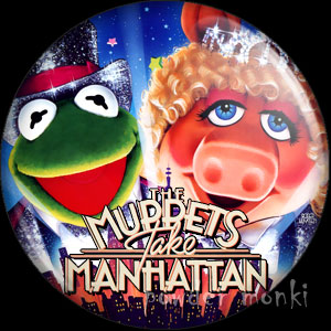 Muppets Take Manhattan - Retro Movie Badge/Magnet