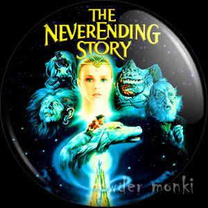 NeverEnding Story - Retro Movie Badge/Magnet