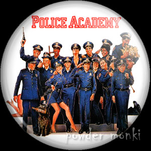Police Acadamy - Retro Movie Badge/Magnet