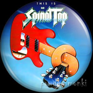 Spinal Tap - Retro Movie Badge/Magnet