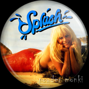 Splash - Retro Movie Badge/Magnet