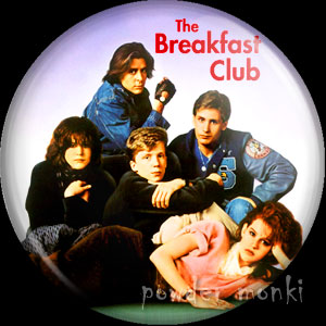Breakfast Club - Retro Movie Badge/Magnet