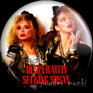 Desperately Seeking Susan - Retro Movie Badge/Magnet